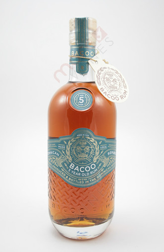 Bacoo 5 Year Old Rum 750ml