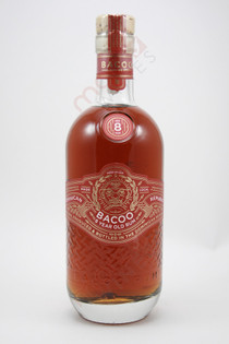 Bacoo 8 Year Old Rum 750ml