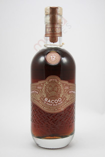 Bacoo 12 Year Old Rum 750ml
