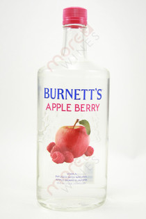 Burnett's Apple Berry Vodka 750ml