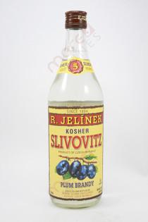 R. Jelinek Slivovitz Kosher Plum Brandy 750ml