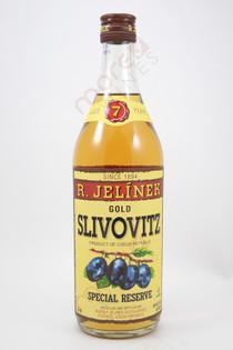 R. Jelinek Slivovitz Kosher Gold Plum Brandy 750ml