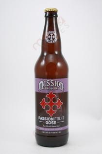 Mission Passionfruit Gose Ale 22fl oz