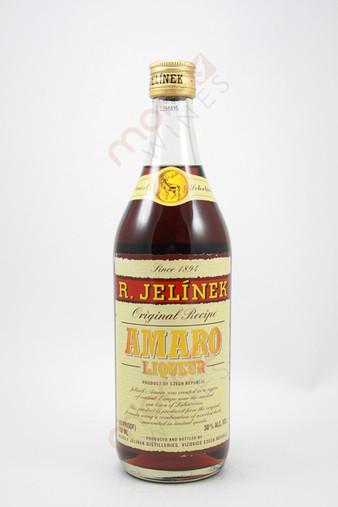 R. Jelinek Original Recipe Amaro Liqueur 750ml