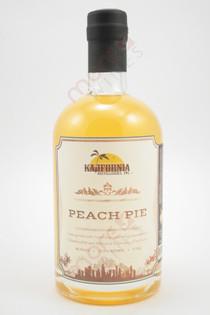 Kalifornia Peach Pie Moonshine 750ml