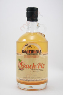 Kalifornia Peach Pie Moonshine 750ml