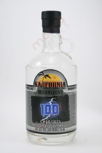 Kalifornia 100 Unaged Corn Whiskey Moonshine 750ml