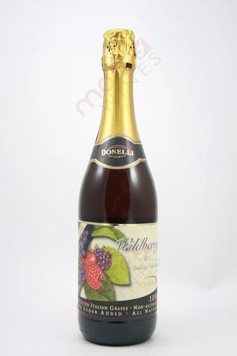 Donelli Wildberry & Sparkling Grape Juice Non-Alcoholic 750ml