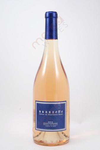 Breezette Cotes de Provence Rose 2015 750ml