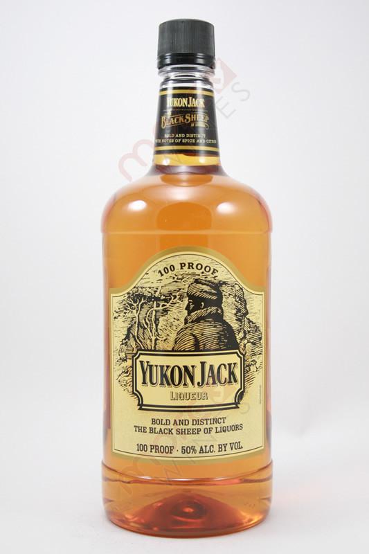 Yukon Jack Canadian Liqueur 1 75l Morewines