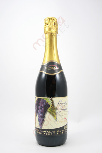 Donelli Grape Juice Red & Sparkling Non-Alcoholic 750ml