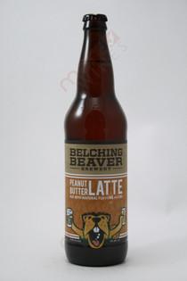 Belching Beaver Peanut Butter Latte Ale 22fl oz