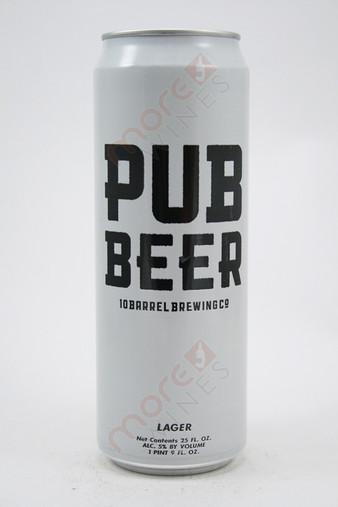 10 Barrel Brewing Pub Beer 25fl oz