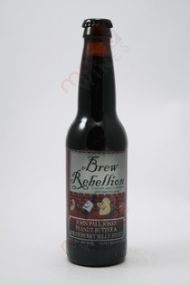Brew Rebellion John Paul Jones Peanut Butter & Strawberry Jelly Stout 12fl oz