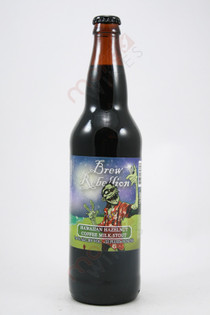 Brew Rebellion Hawaiian Hazelnut Coffee Milk Stout 22fl oz