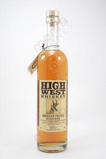 High West American Prairie Blended Straight Bourbon 750ml