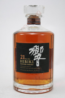 Hibiki 21 Year Old Blended Whisky 750ml