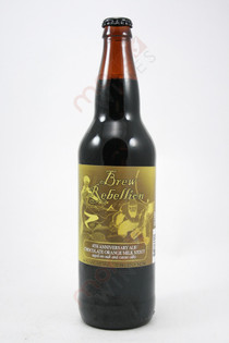 Brew Rebellion 4th Anniversary Ale Chocolate Orange Milk Stout 22fl oz