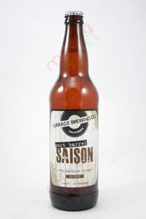 Garage Brewing Port Barrel Saison With Candied Ginger 22fl oz