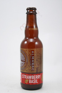 Almanac Farm To Barrel Sour Strawberry & Basil 375ml