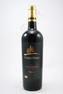San Antonio Three Pines Black Granite Red Blend 2012 750ml