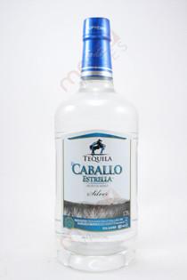 El Caballo Estrella Silver Tequila 1.75L