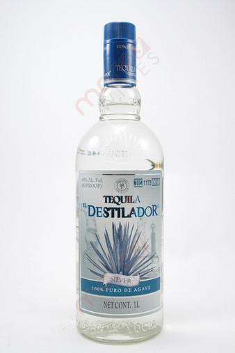 El Destilador Silver Tequila 1L