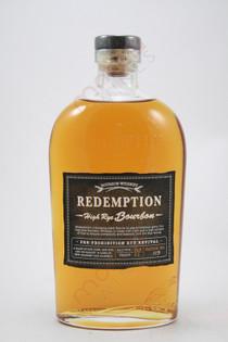Redemption Pre-Prohibition Rye Revival High Rye Bourbon 750ml