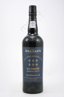 Graham's Six Grapes Reserve Port Special River Quintas Edition 750ml