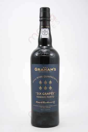 Graham's Six Grapes Reserve Port Special River Quintas Edition 750ml