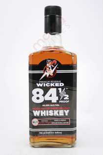 Wicked Spirits 84 1/2 Proof American Light Whiskey 750ml