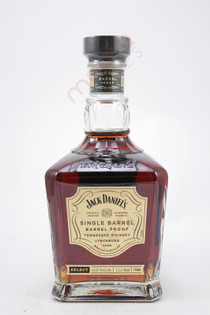 Jack Daniels Single Barrel Barrel Proof Tennessee Whiskey 750ml
