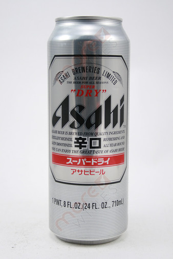 Asahi Super Dry Draft Beer 24fl oz
