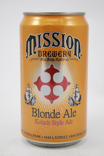Mission Blonde Ale 25fl oz