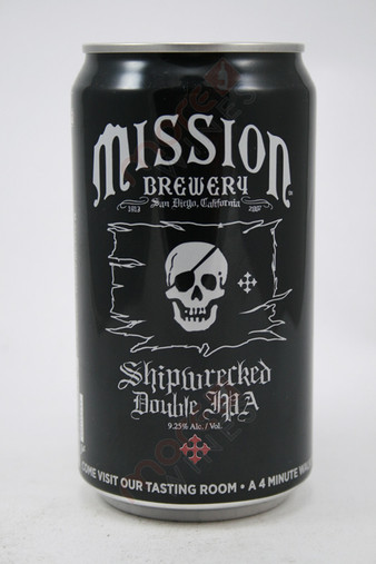 Mission Brewing Shipwrecked Double IPA 25fl oz
