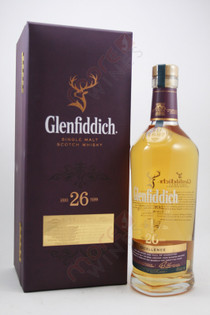 Glenfiddich Excellence 26 Year Old Single Malt Scotch Whisky 750ml