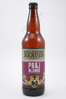 Belching Beaver PB & J Blonde 22fl oz