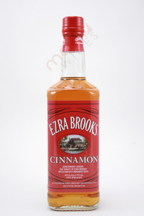 Ezra Brooks Cinnamon Whiskey 750ml