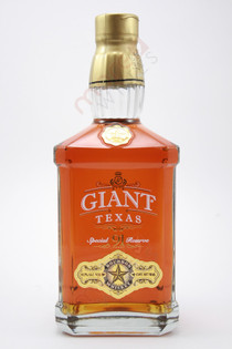 Giant Texas Special Reserve 91 Proof Bourbon Whiskey 750ml