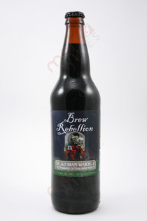 Brew Rebellion Dead Man Waking Vietnamese Coffee Milk Stout 22fl oz
