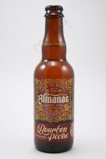 Almanac Bourbon Barrel Peche Blonde Sour Ale 375ml