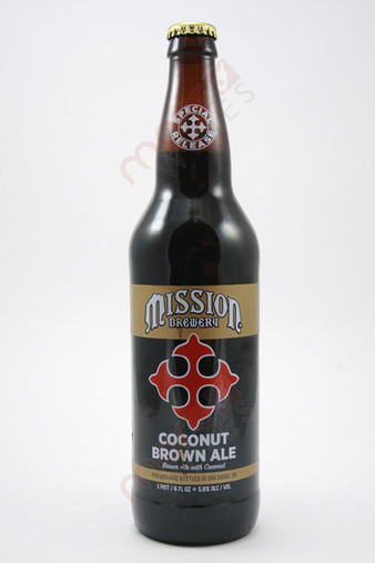 Mission Coconut Brown Ale 22fl oz