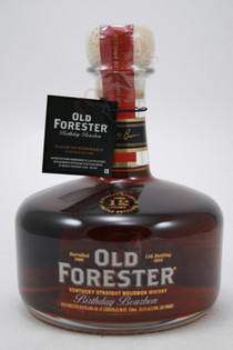 Old Forester Birthday Bourbon Kentucky Straight Bourbon Whiskey 750ml