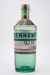 Graton Distilling Co. D. George Benham's Sonoma Dry Gin 750ml