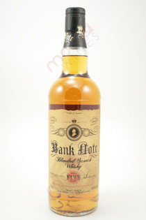 Bank Note Aged 5 Years Blended Scotch Whisky 750ml
