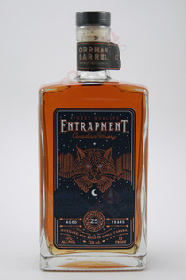 Orphan Barrel Entrapment 25 Year Old Canadian Whisky 750ml
