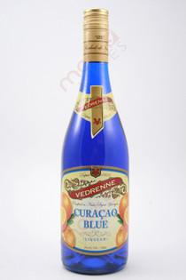 Vedrenne Blue Curacao Liqueur 750ml