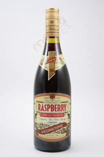 Vedrenne Creme de Framboise Raspberry Liqueur 750ml