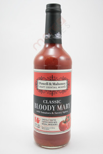 Powell & Mahoney Classic Bloody Mary Cocktail Mixer 750ml