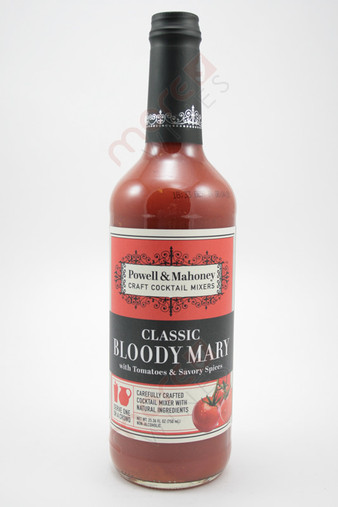 Powell & Mahoney Classic Bloody Mary Cocktail Mixer 750ml